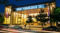 Moody Performance Hall, exterior evening 2, photo by Carter Rose.jpg